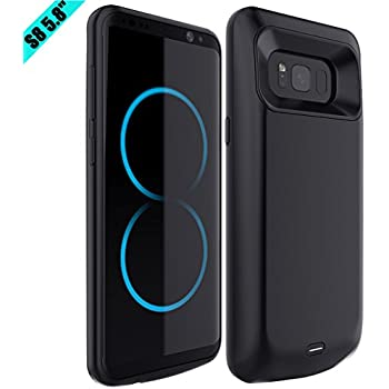 galaxy s8 battery case caka galaxy s8 charging case portable charger 5000mah. Black Bedroom Furniture Sets. Home Design Ideas