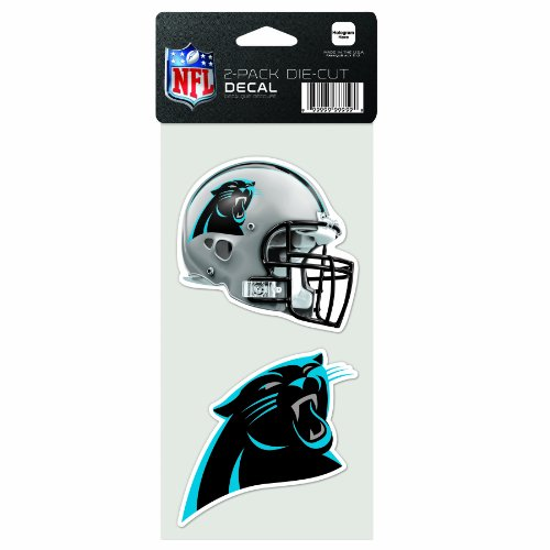 panthers window decal - 5