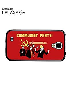 Communist Party Banksy Mobile Cell Phone Case Samsung Galaxy S4 White