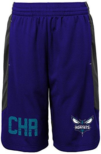 "NBA Kids & Youth Boys ""Jump Ball"" Short Charlotte Hornets-Charcoal-M(10-12)"