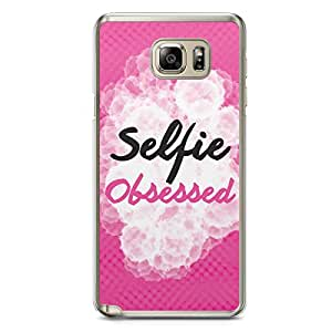 Selfie Samsung Note 5 Transparent Edge Case - I take a lot of selfies