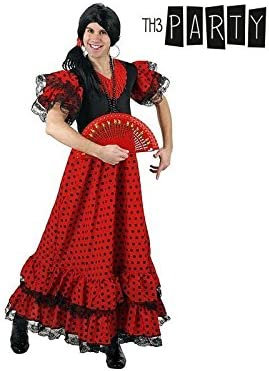 Disfraz para Adultos Th3 Party 4569 Bailaora flamenca: Amazon.es ...