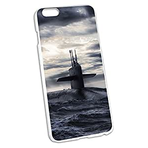 Nuclear Submarine at Sea Snap On Hard Protective Case for Apple iPhone 6 6s Plus