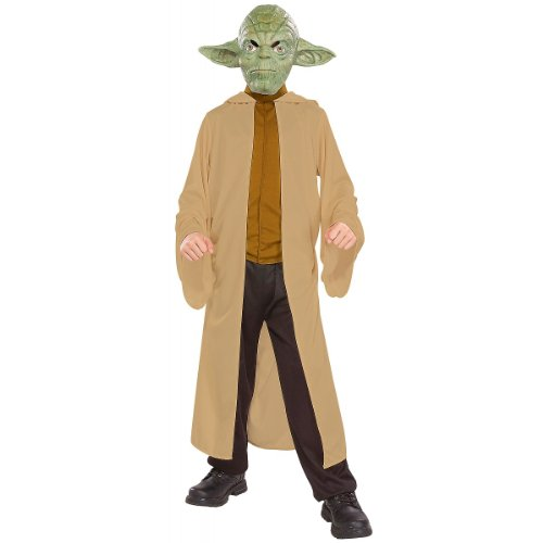 Big Boys' Yoda Costume - L