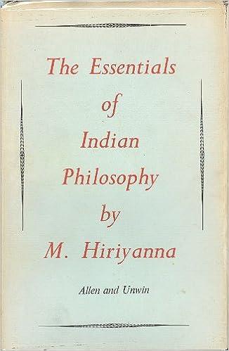 Livres en ligne à télécharger The essentials of Indian philosophy, by Mysore Hiriyanna PDF
