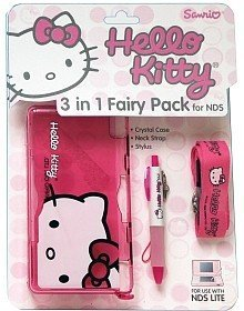 - Hello Kitty 3 in 1 Style Pack for Nintendo DS Lite