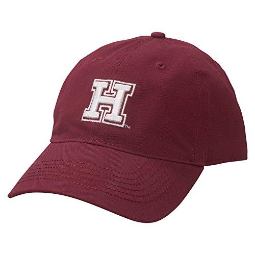 NCAA Harvard Crimson Adult Unisex Epic Washed Twill Cap  Adjustable Size