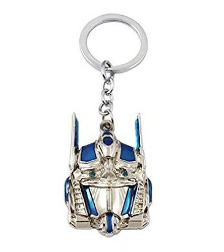 Optimus Prime Ring (Transformers Optimus Prime Mask Metal keychains Key Ring key)