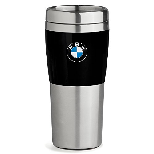 BMW Travel Mug with Black Band – 14oz