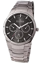 Skagen Men's 596XLTXM Multifunction Titanium Bracelet Watch