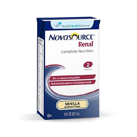 Novasource Renal Nutritional Supplement ( NOVASOURCE RENAL, 8OZ BRIKS ) 27 Each / Case