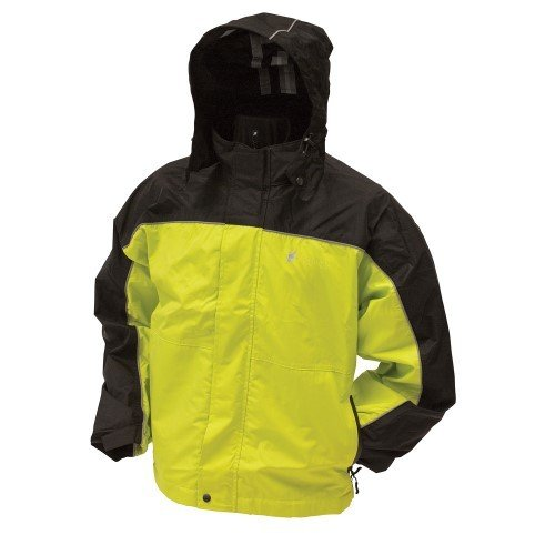 Frogg Toggs Elite Highway Rain Jacket (MEDIUM) (YELLOW)