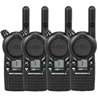 4 Pack of Motorola CLS1110 Two Way Radio Walkie Talkies (UHF)