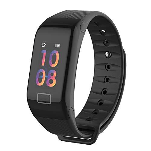 Seguimiento de la frecuencia cardíaca Seguimiento de la frecuencia cardíaca pulsera intelligenteedometro Wristband sueño Monitor reloj inteligente para ...