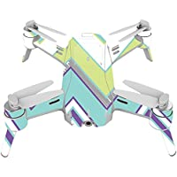 Skin For Yuneec Breeze 4K Drone – Pastel Chevron | MightySkins Protective, Durable, and Unique Vinyl Decal wrap cover | Easy To Apply, Remove, and Change Styles | Made in the USA