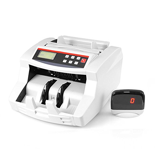 Pyle Wireless Automatic Bill Counter, Digital Cash Money Banknote Counting Machine, Rechargeable Battery (Automatic Cash Machine compare prices)