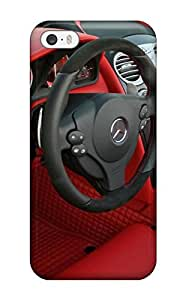New Iphone 5/5s Case Cover Casing(mercedes Roadster Wallpaper)
