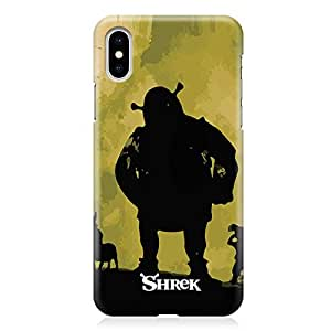 Loud Universe Shrek with Friends iPhone XS MAX Case Classic Style iPhone XS MAX Cover with 3d Wrap around Edges