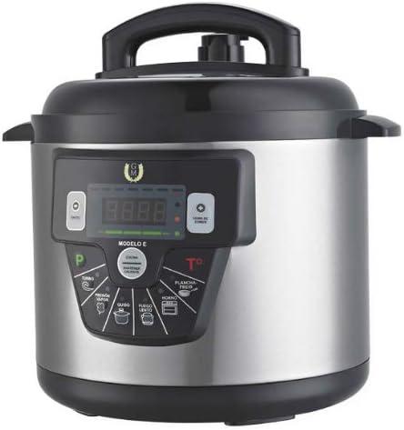 Cocina Programable GM modelo E Funcion freidora y Función de Voz – 10 litros: Amazon.es: Hogar