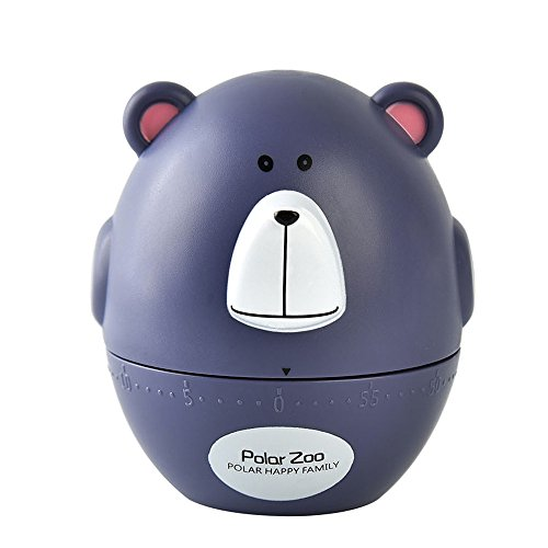 - Hot Sale!DEESEE(TM)Polar Zoo Pig Kitchen Timer Cute Cooking Gadget Tool Fun Collectible Gift For Pet Lovers (B)