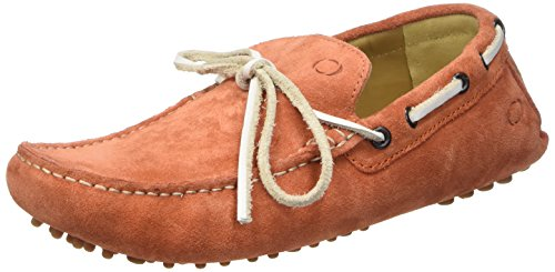 Base London Healey, Men Loafers Orange (Spice)