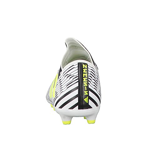 adidas Jungen Nemeziz 17.3 FG J Fußballschuhe, Weiß Weiß (Ftwbla/Amasol/Negbas)