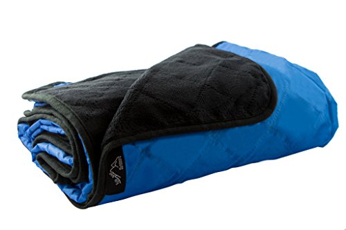 Outdoor Camping Blanket Rainproof and Windproof! XL Stadium Blanket With Soft Fleece Material Keeps You Warm & Dry - Picnic Blanket Has Carrying Bag For Easy Storage & 1 Paracord Survival (Soft Fleece Material)