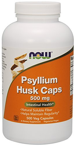 NOW Foods Psyllium Husk Caps -- 500 mg - 1000 Capsules ,NOW-ljyk by NOW