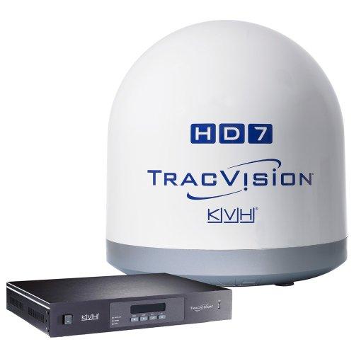 (KVH Industries 01-0323-01SL TracVision HD7 DIRECTV HDTV for Marine)