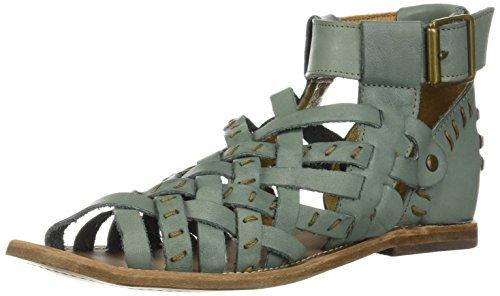Musse & Cloud Women's Adelle Flat Sandal Blue mgutNu