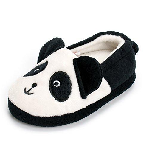 Estamico Toddler Boys Premium Soft Plush Slippers Cartoon Warm Winter House