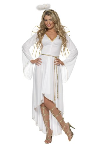 [Angel Costume - Small - Dress Size 6-8] (Angel Halloween Costumes For Women)