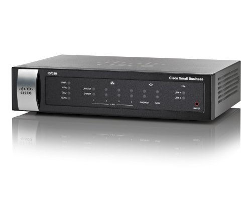 2QW1646 – Cisco RV320 Dual WAN VPN Router
