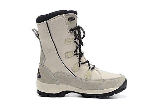 Hiking Sports Shoes Boot Lining Waterproof Ski Speedeve White Outdoor Boots Fur Snow Women Skid Winter Climbing Anti Warm FqSn44