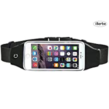 Universal Water Resistant Sports Armband,iBarbe,case Bundle with Screen Protector for iPhone 7/6/6S Plus,LG G6 G5,Galaxy s8,s8 plus s7 s6 Edge,Note 5 Sport Exercise Running Pouch Key Holder
