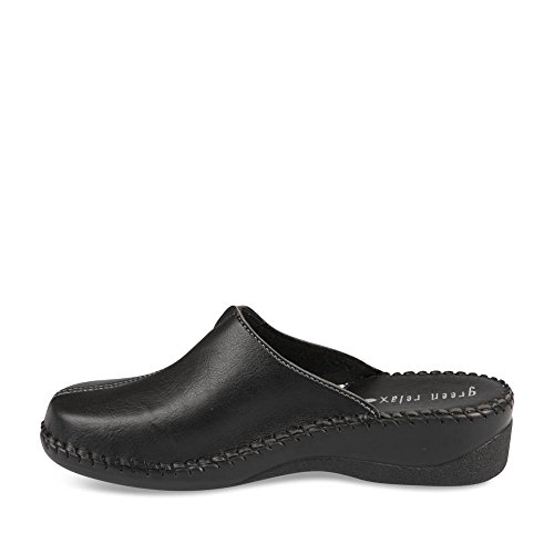 Chinelas y zuecos NEGRO GREEN RELAX