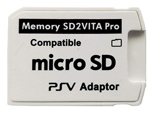 Skywin SD2Vita PS Vita Micro SD Memory Card Adapter Compatible with PS Vita 1000/2000 3.6 or HENkaku System