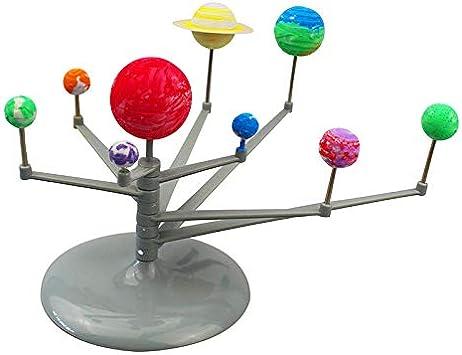 Zerodis Sistema Solar Planetario DIY Modelo Astronómico Bola ...