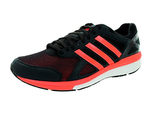 pre order adidas Mens Adizero Tempo Boost 7 Running Sneaker Shoe Black/Red buy cheap buy fJwPZB