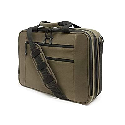 "hot sale Mecbc9 - Canvas Eco Briefcase 16"" Olive"