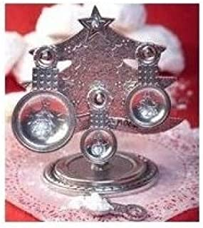 product image for Crosby & Taylor Pewter Christmas Tree Measuring Spoon Set
