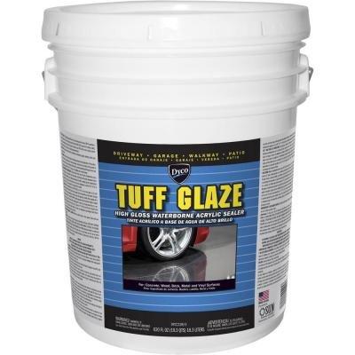 Dyco Tuff Glaze 5 gal. C22W Clear High Gloss Waterborne Acrylic Sealer