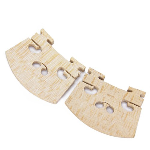 TOOGOO(R) 2¡ÁMaple Violin Bridge 4/4 by TOOGOO(R) (Image #3)