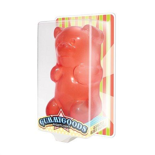 GummyGoods Nightlight - Red Bear Color: Red Toy, Kids, Play, Children