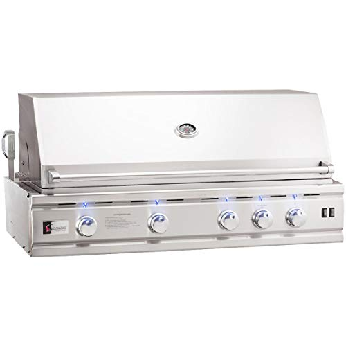 - Summerset Trl Deluxe 44-inch 4-burner Built-in Natural Gas Grill With Rotisserie - Trld44-ng