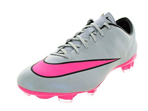 Nike Men's Mercurial Veloce II Fg Wlf Grey/Hyper Pink/Bla...