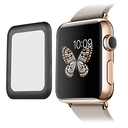 Aluminum Alloy Back Case for Apple Watch 42mm (Black) - 5