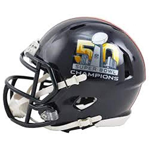 NFL Denver Broncos Super Bowl 50 Champions Speed Mini Replica Helmet ()