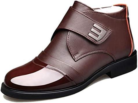 ビジネスブーツ メンズ 紳士靴 敬老の日 ビジネスシューズ 防寒 スノーブーツ 裏起毛 ハイカット ウォーキングシューズ EEEE 軽量 滑りにくい 衝撃吸収 ランニングシューズ トレッキングシューズ 幅広 甲高 コンフォート