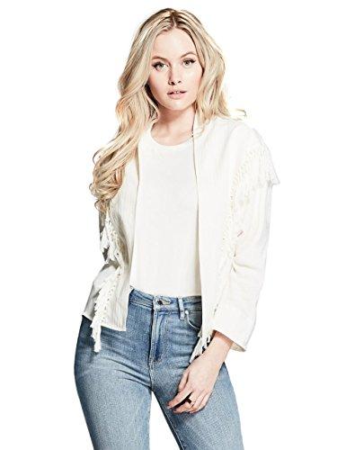 GUESS by Marciano Women's Brooke Fringe Jacket